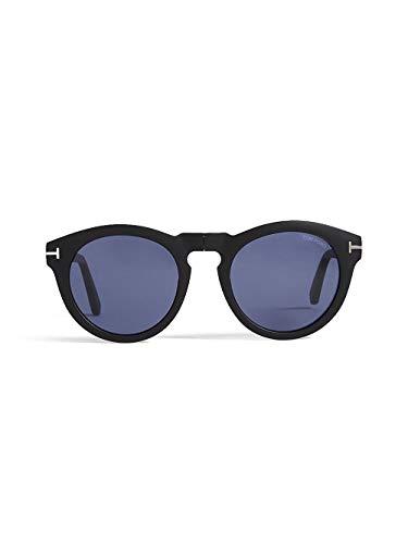 unisexe BLUE Soleil FT de Tom 0627 Ford CARTER BLACK MATTE 02 FOLDING Lunettes q5617PxwU5