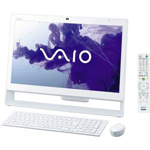 SONY VAIO J ホワイト VPCJ246FJWの商品画像