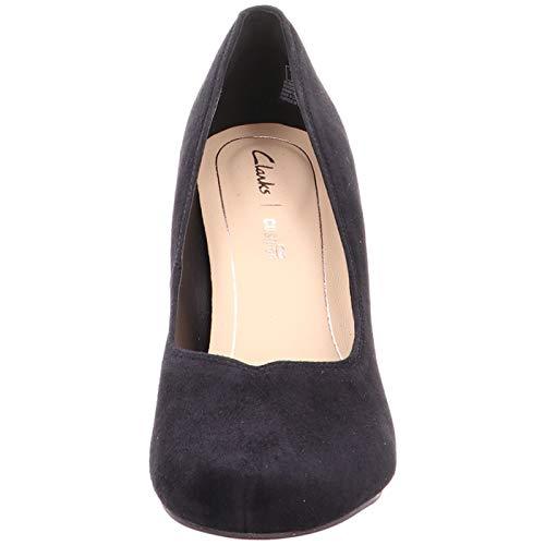 Negro Zapatos Dalia Para Tacón Clarks Mujer De Rose ZBUnwCq e08cb6c2fda6