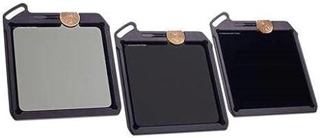 Vino país cámara 100 x 100 mm Blackstone 3-filter Kit – ND 0.9 3 pasos de densidad neutra Filtro, ND 1.8 6-stop Filtro, Filtro ND 3.0 10-stop: Amazon.es: Electrónica