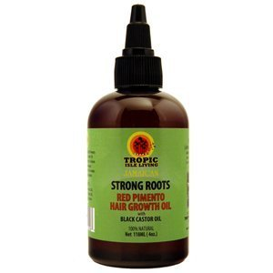 Tropic Isle racines solides Rouge Pimento cheveux Growth Oil, 4 once