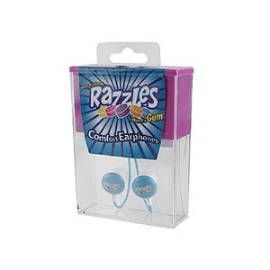 Candy Comfort Earphones Razzles 3.5mm Stereo Headsets (Discontinued by Manufacturer) -