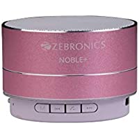Zebronics Noble Plus Bluetooth Speakers (Pink)