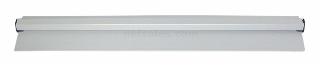 New Star 23862 Anodized Aluminum Slide Check Rack, 24-Inch, Silver New Star Foodservice