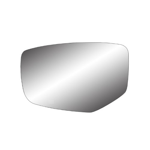 Fit System 88272 Honda Accord Left Side Power Replacement Mirror Glass with Backing Plate