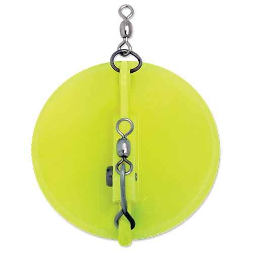 Luhr Jensen 3 Dipsy Magnum Diver B00030AGGK Chartreuse/White Bottom Chartreuse/White Bottom