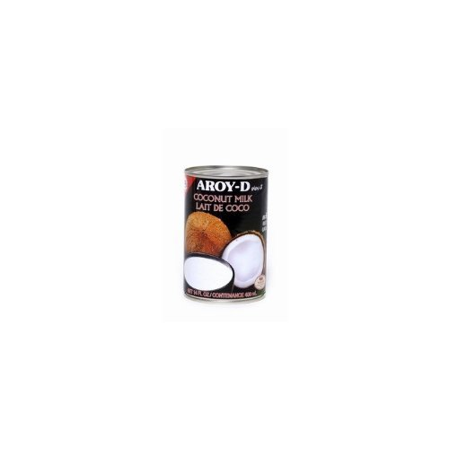 AROYD Coconut Milk 14 Oz Can Pack of 6
