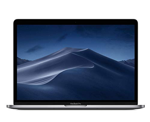 Apple 13 Inch MacBook Pro Laptop (Retina, Touch Bar, 2.7GHz Quad-Core Intel Core i7, 8GB RAM, 512GB SSD Storage) Space...