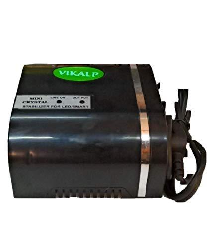 VIKALP   LIMITLESS CHOICES Safeguard Mini Crystal Voltage Stabilizer Black  LED TV Upto 40