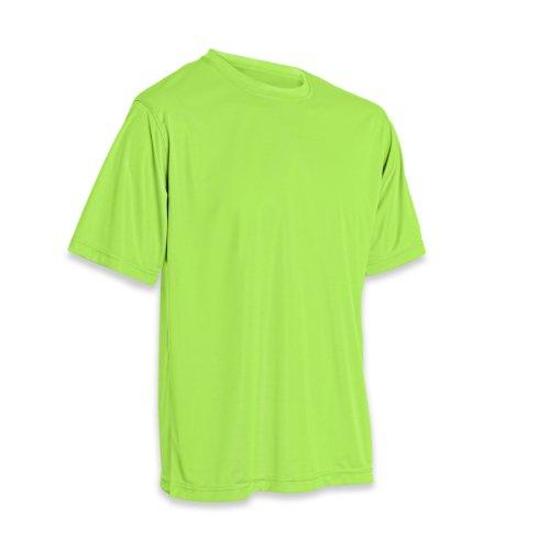 Vizari Performance T-Shirt, Neon Green, Medium