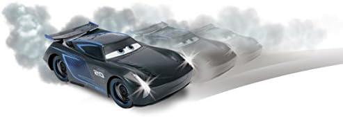 Majorette - 213086007 - Cars 3 - Voiture Radio Commandée - Jackson Storm - Multifonctions - Echelle 1/16 ème
