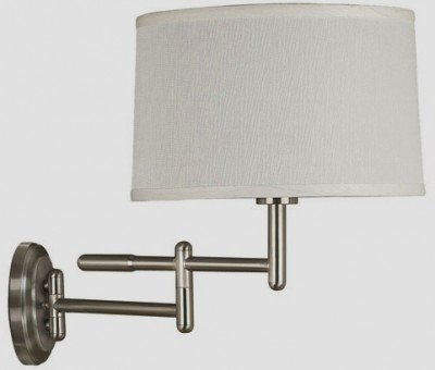Cheap Kenroy Home Theta Wall Swing Arm Lamp – 19W in. Brushed