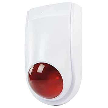 Amazon.com: Dummy Fake Alarm Siren Bell Security Box - IP44 ...