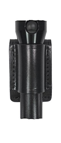 (Gould & Goodrich B676-2 Flashlight Holder, Black, Size 2)