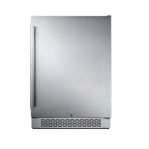 "Avallon AFR241SSRH 5.5 Cu Ft Built-in 24"" Refrigerator - Right Hinge"