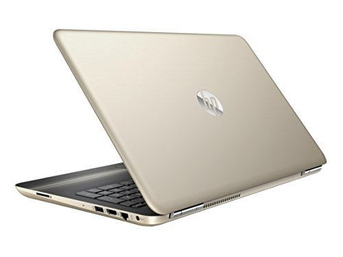 "Price comparison product image HP 15.6"" diagonal HD SVA BrightView WLED-backlit touch Laptop, AMD Dual-Core A9-9420 APU (3 GHz, 1 MB cache) + AMD Radeon R5 Graphics, 8GB RAM, 1TB HD, Silk gold"