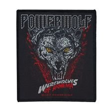 Band Art Powerwolf Werewolves of Armenia Patch Power Metal Sew-On Applique by Mia_you