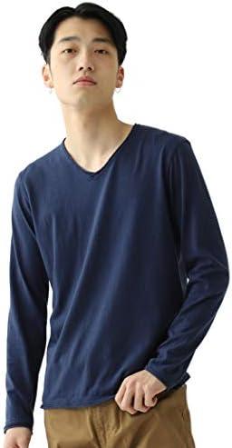 Tシャツ カットソー カットオフ Vネック カットソー メンズ