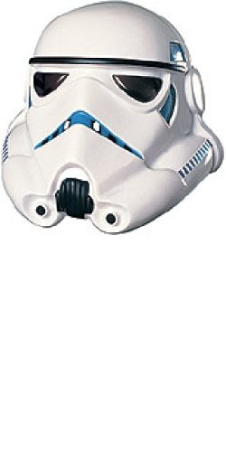 [Rubie's Men's Star Wars White Stormtrooper Mask - One Size, 10
