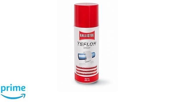 Ballistol Spraydose Teflon Spray, 200 ml, Keine Farbe, 25600, Transparente, Talla Única: Amazon.es: Deportes y aire libre