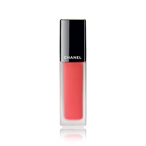 CHANEL ROUGE ALLURE INK MATTE LIQUID LIP COLOUR # 144 VIVANT (Best Chanel Pink Lipstick)