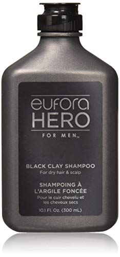 Eufora Hero For Men Black Clay Shampoo 10.1 oz