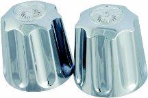 - Chrome Tub & Shower Faucet Handle - Gerber Large Handle Short Broach - Gerber GE32501