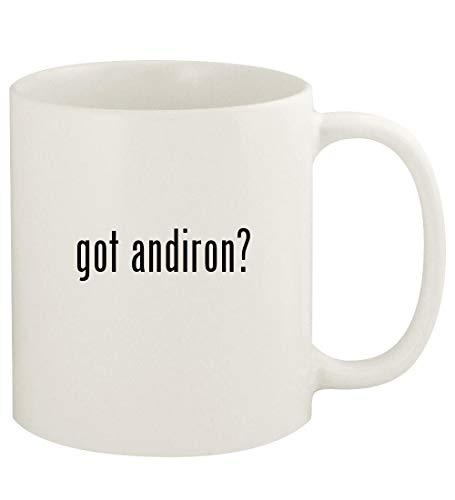 got andiron? - 11oz Ceramic White Coffee Mug Cup, White