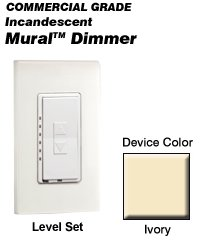 MLI06-1LI Leviton Decora Mural Level Set Dimmers ()