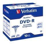 Verbatim  DVD-R 4.7GB 8X Medi Disc Thermal Printable