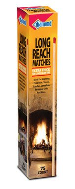 Diamond Long Reach Matches 75 count