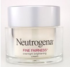 Neutrogena face whitening cream