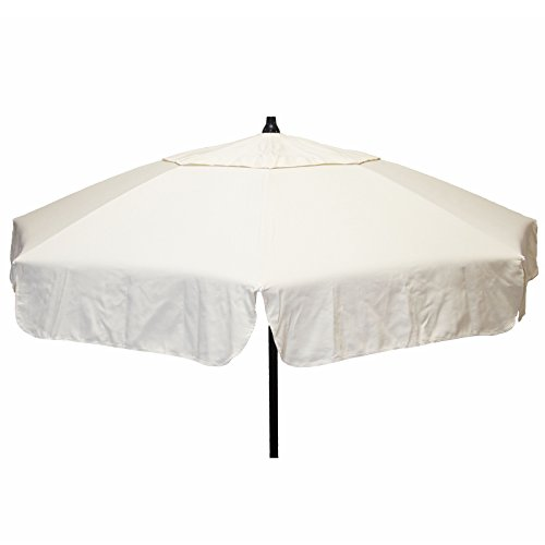Italian 6 foot Umbrella Acrylic Solid Natural - Bar (858 Natural)