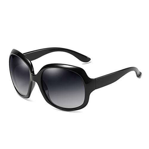 Fast Sister Polarized Classic Trendy Stylish Sunglasses for Women (Black)