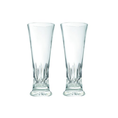 Waterford Crystal Pilsner - Waterford Lismore Pilsner Pair, 14-Ounce