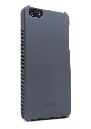iFrogz Luxe Lean Case for iPhone 5 - Retail Packaging - Grey