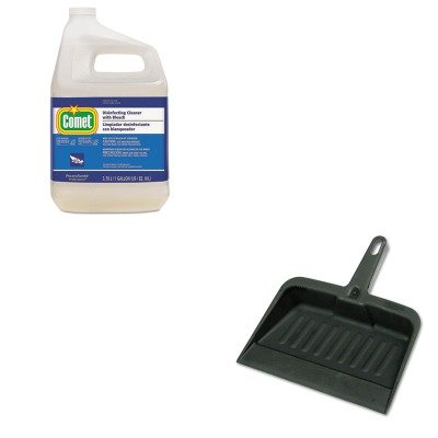 KITPAG24651RCP2005CHA - Value Kit - Procter amp; Gamble Professional Cleaner w/Bleach (PAG24651) and Rubbermaid-Chrome Heavy Duty Dust Pan (RCP2005CHA)