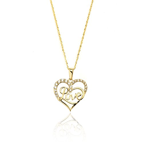 20-10k-yellow-gold-heart-cubic-zirconia-love-pendant-necklace-for-women-and-girls
