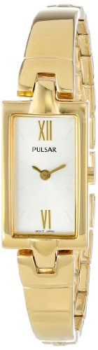 Pulsar Women's PEGG14 Analog Display Japanese Quartz Gold - Watch Fashion Pulsar Womens