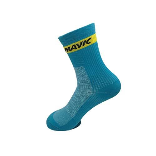 Daesar 1 Pares Calcetines Algodon Calcetines Deporte Transpirables Calcetines Running Calcetines Futbol Hombre Amarillo: Amazon.es: Ropa y accesorios