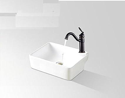 Hlluya rubinetto lavabo bagno cucina i rubinetti in ottone nero