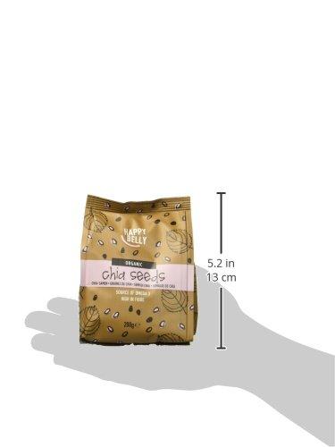 Marca Amazon - Happy Belly Semillas de chía orgánica, 7 x 200gr: Amazon.es: Alimentación y bebidas