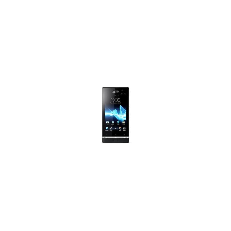 Sony Xperia U St25i (Black+ 1 Additional Bottom Cap)(5MP) Brand New Unlocked GSM Phone Cell Phones & Accessories