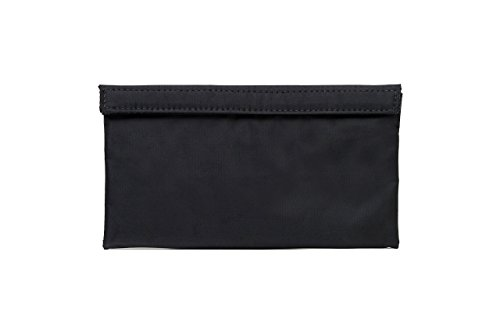 Abscent The Banker Bag Reusable Odor-Absorbing Pouch, Black - Fighter Carbon