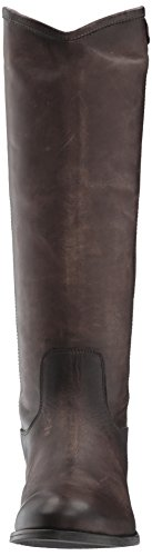 FRYE Damen Melissa Button 2 Reitstiefel Schiefer