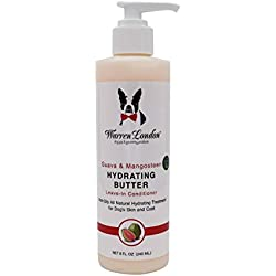 Warren London - Hydrating Butter and Leave-in Conditioner for Dogs Skin and Coat - Guava & Mango - 8oz