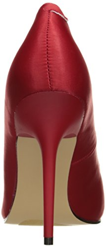 Da Donna Pleaser Classique Satin Red 20 Pumps 7nntxSU