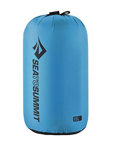 Sea to Summit Nylon Stuff Sack, Pacific Blue, 15 Liter