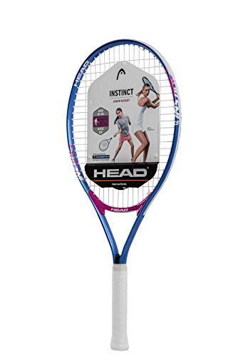 HEAD Instinct Kids Tennis Racquet - Beginners Pre-Strung Head Light Balance Jr Racket - 25