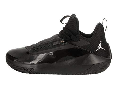 001 Homme Noir Jumpman De black Chaussures Jordan Hustle Basketball Nike white AnUYqgv0w